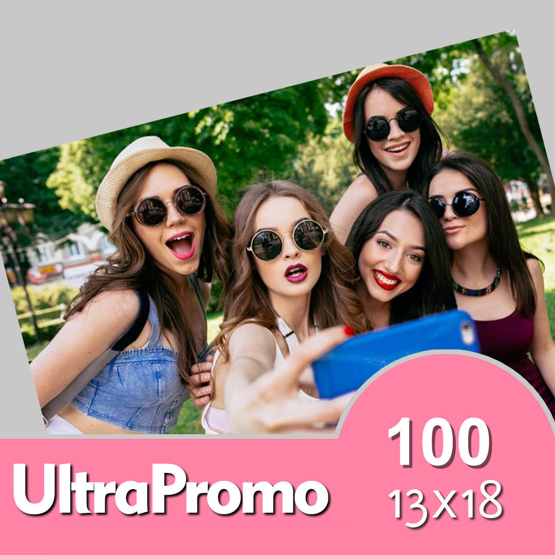 Pack de 100 Fotos 13 x 18