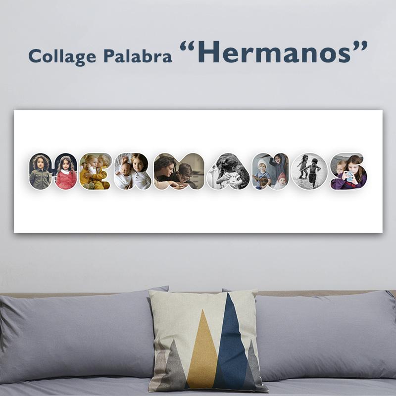 ¡Poster HERMANOS para colgar en la pared!