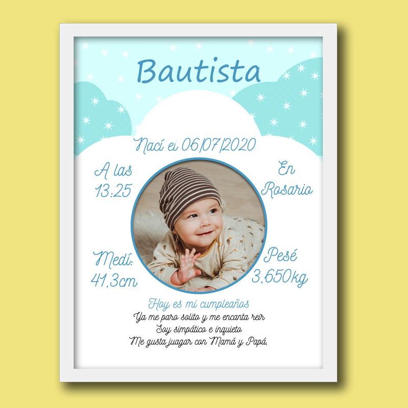 Cuadro del Bebe